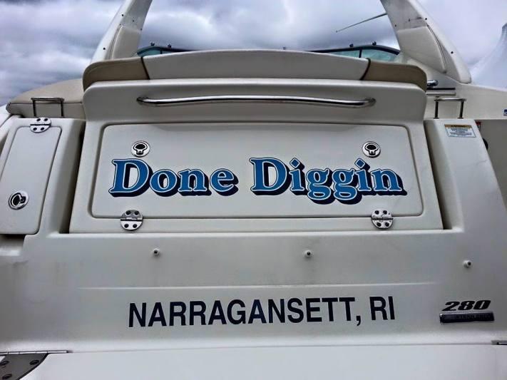 DONE DIGGIN